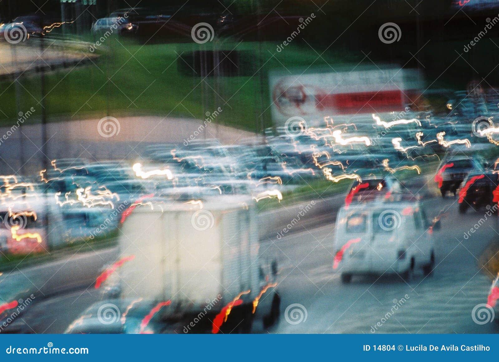Download Ingorgo stradale fotografia stock. Immagine di luce, città - 14804