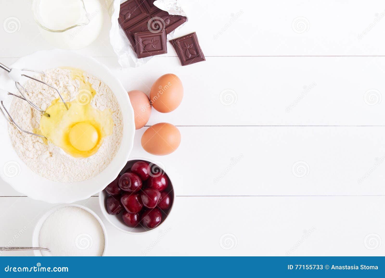 Ingrédients pour le tarte