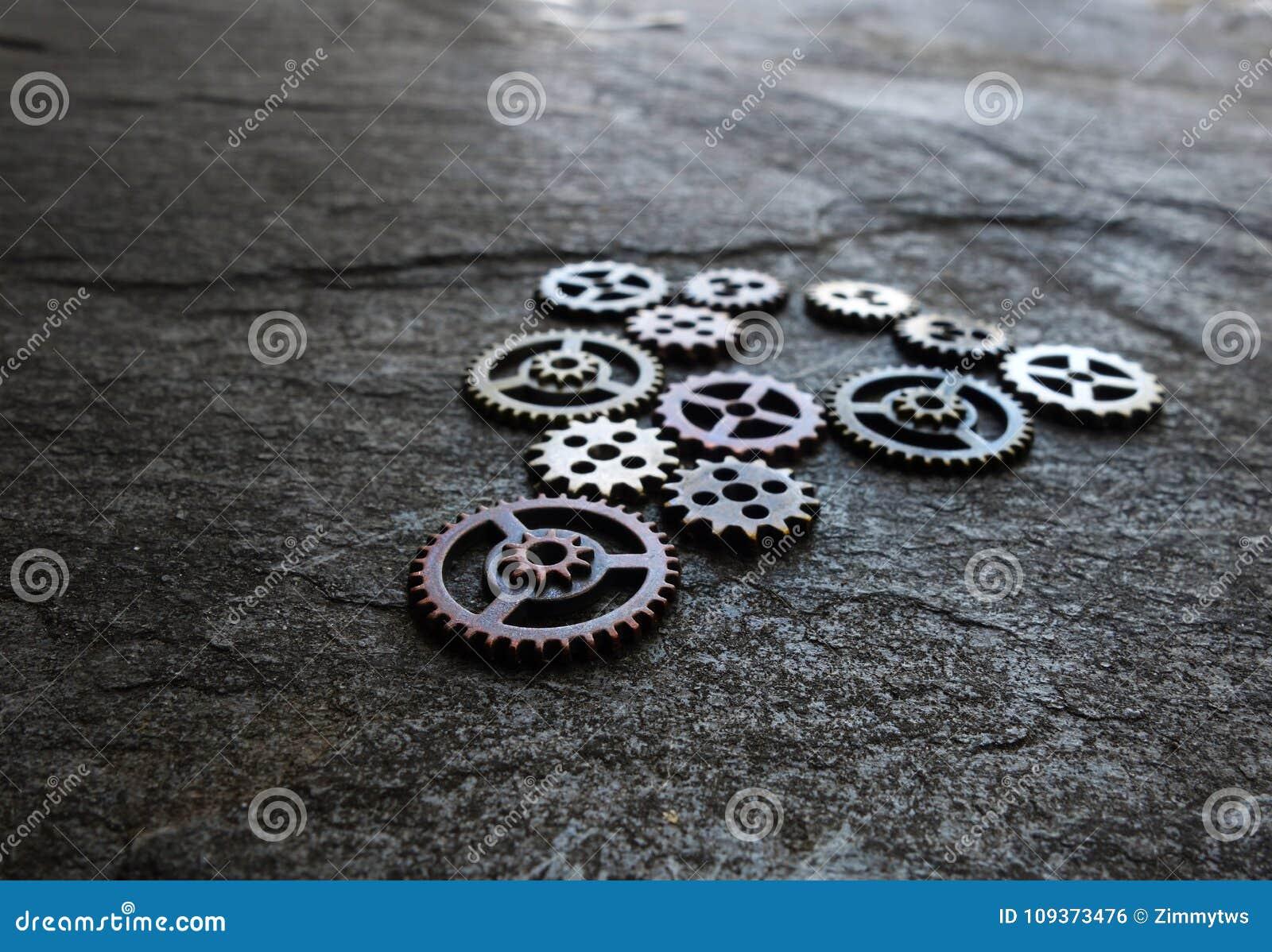 Ingranaggi assortiti del metallo