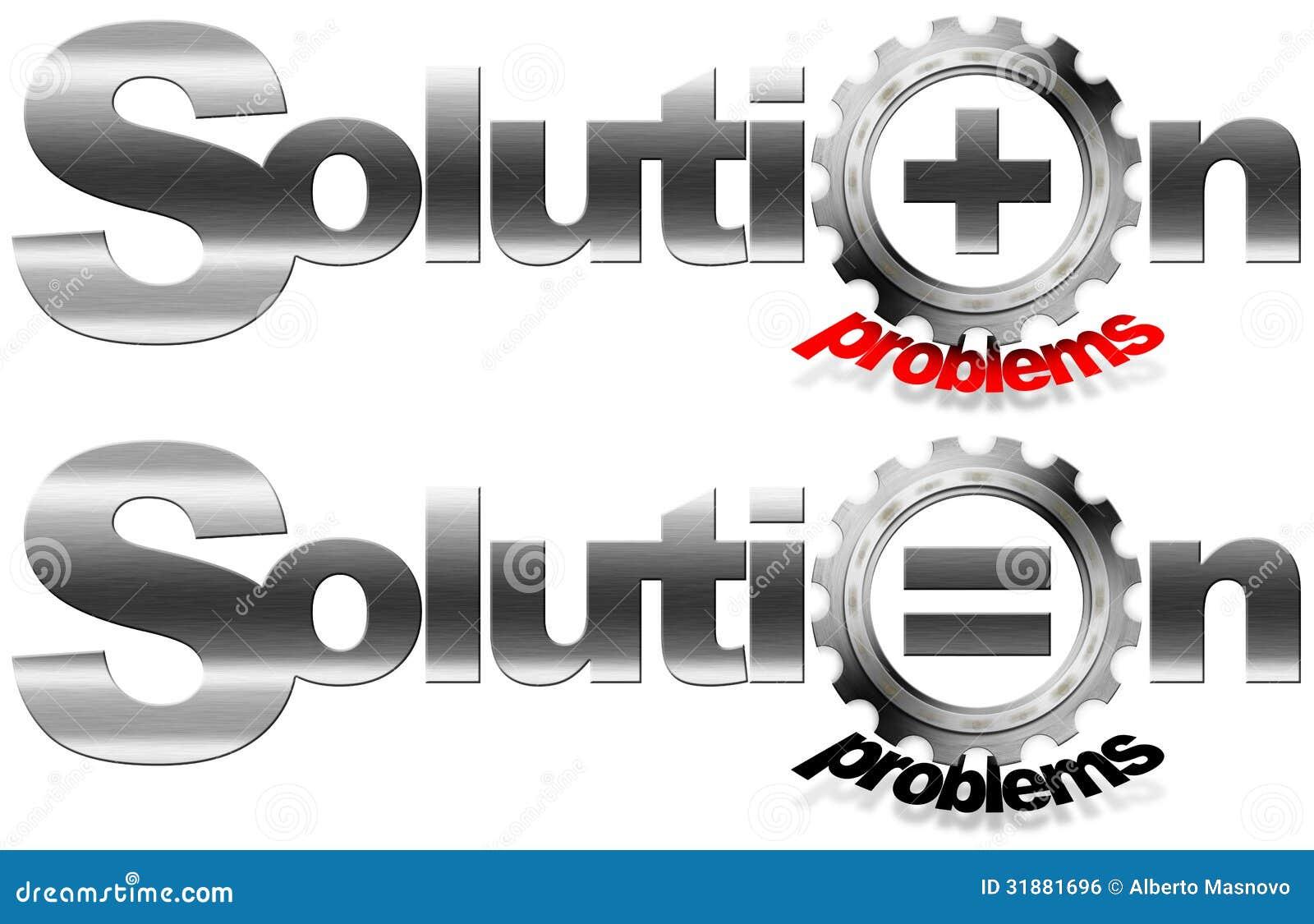 Ingranaggio del metallo di problemi e della soluzione