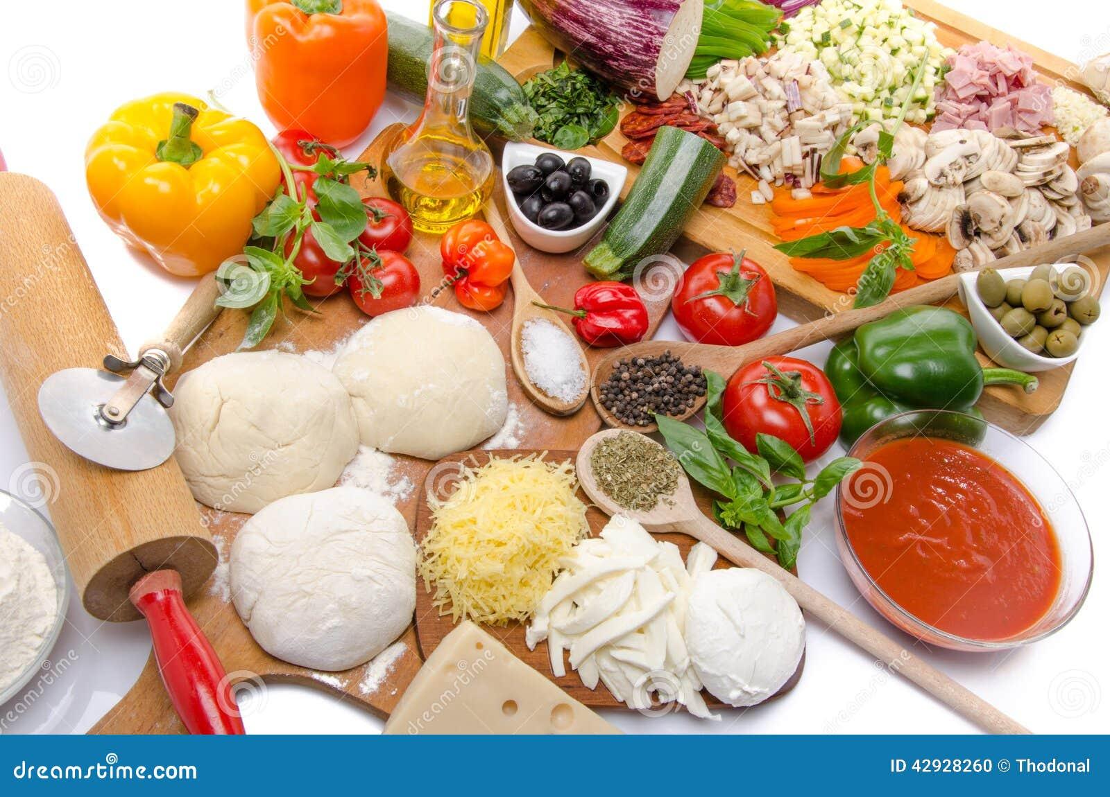 pizzadeeg ingredienten