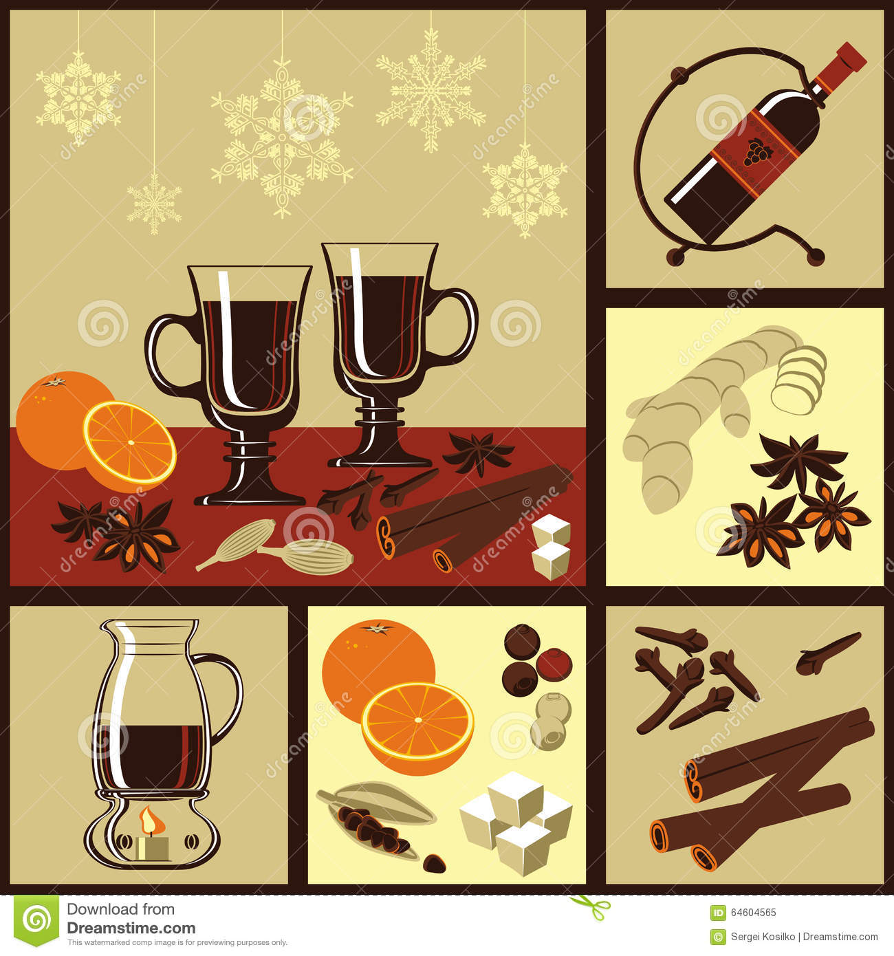 Ingredienser mulled wine