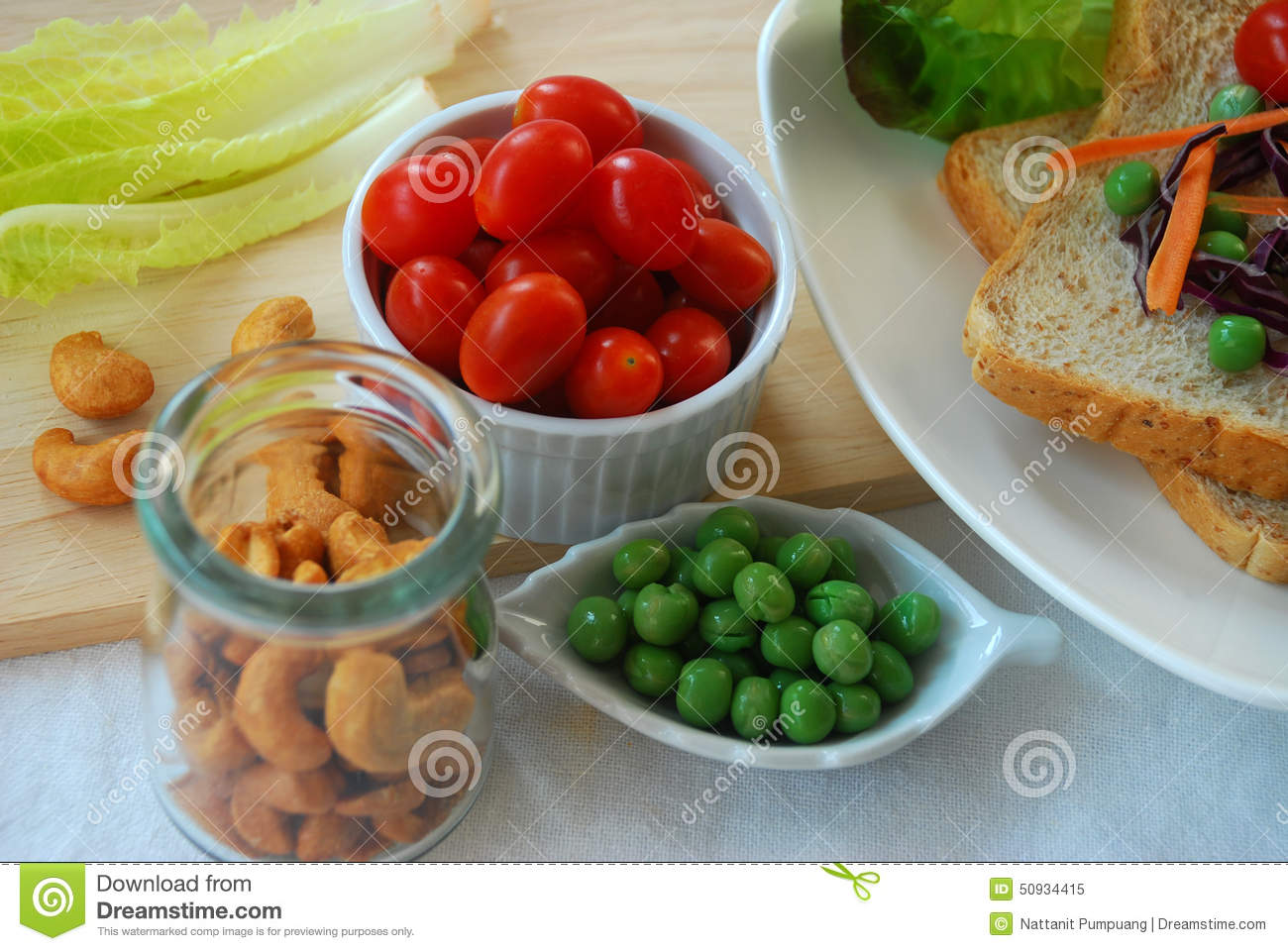 Ingredient for clean food stock photo image 50934415 - Foods never wash cooking ...