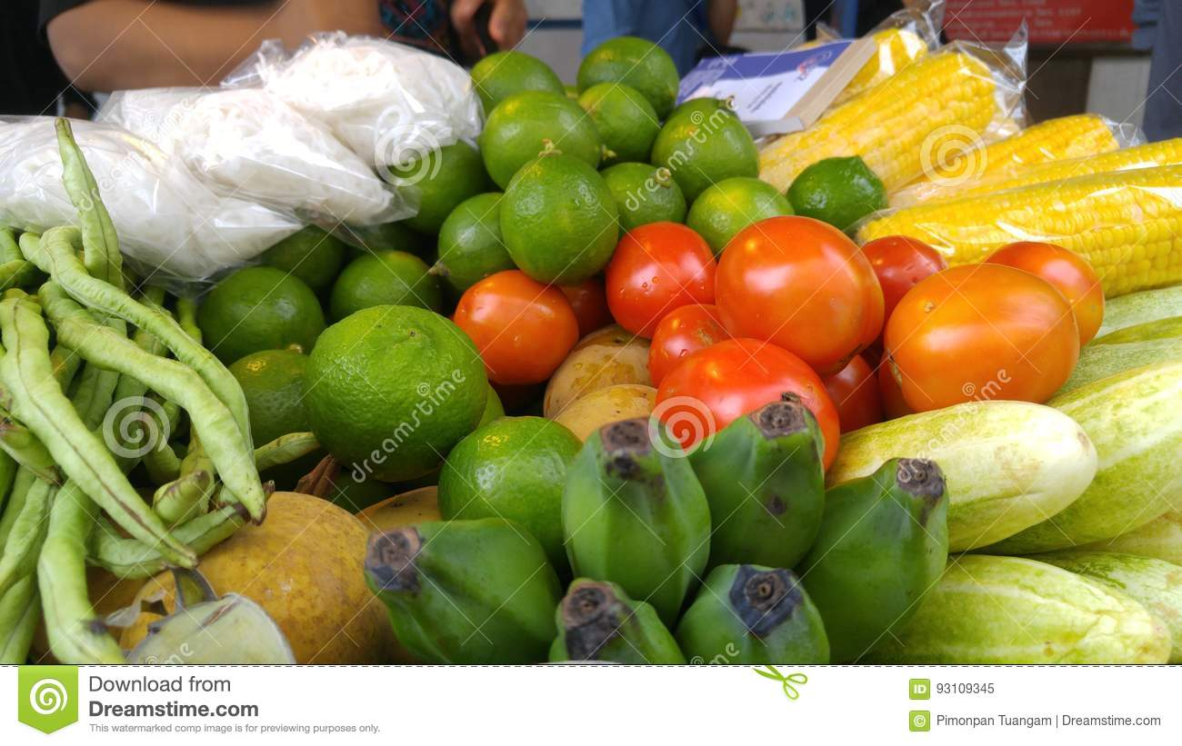 Ingredient For Papaya Salad Stock Image Image Of Health