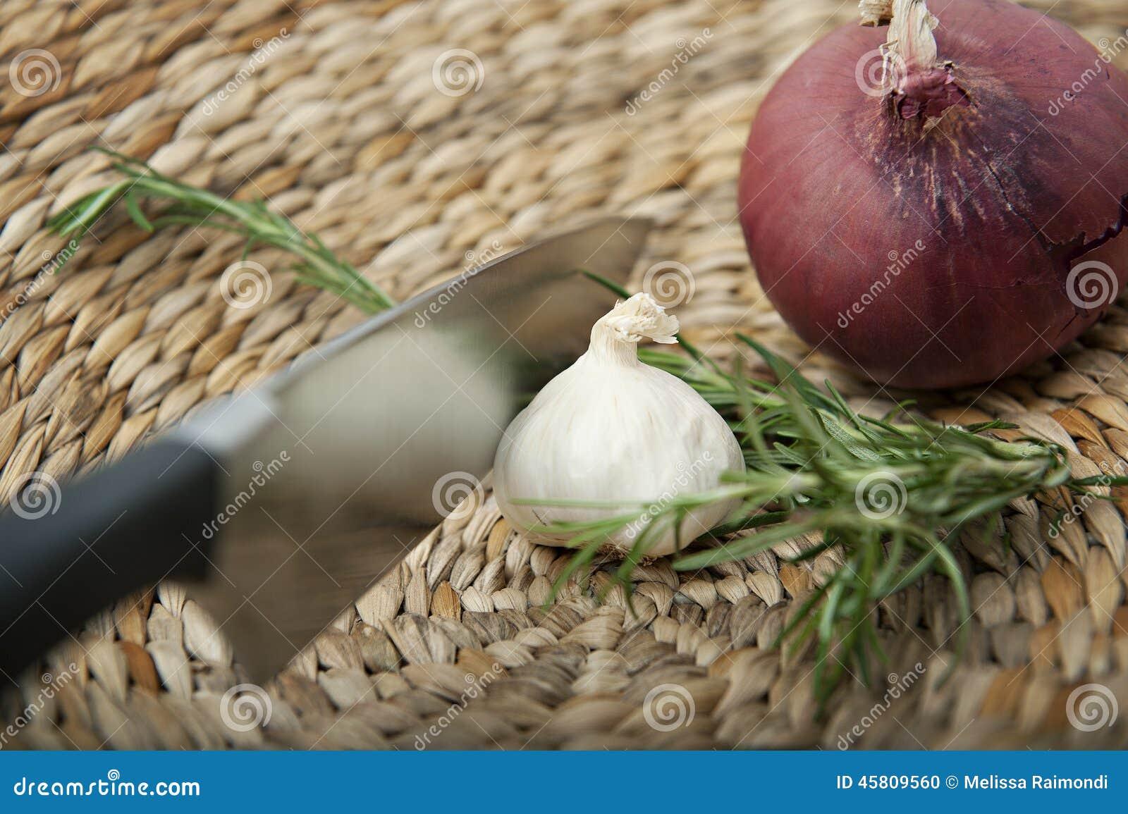 Ingredientes de cocinar sabrosos