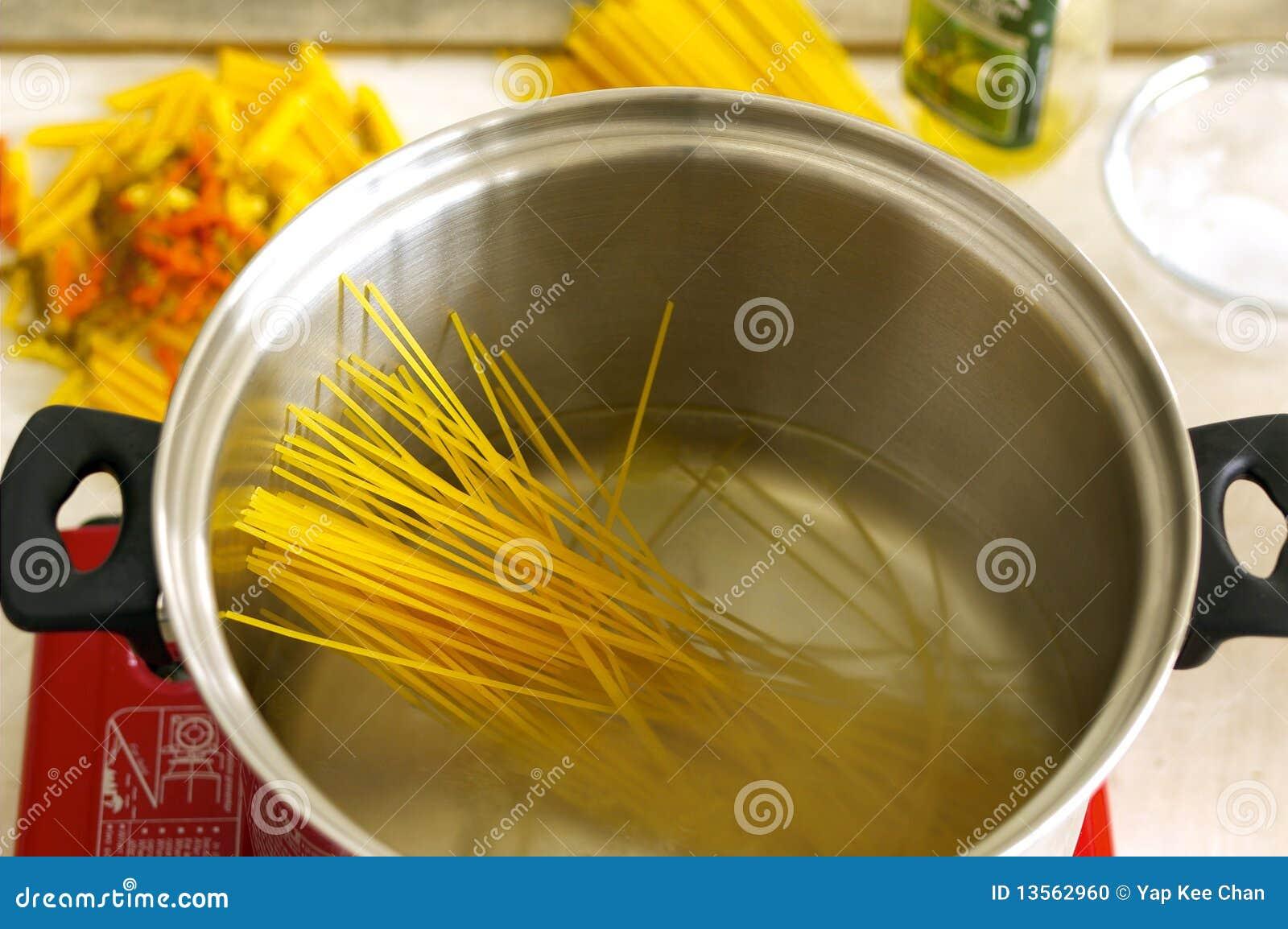 Ingredientes do espaguete