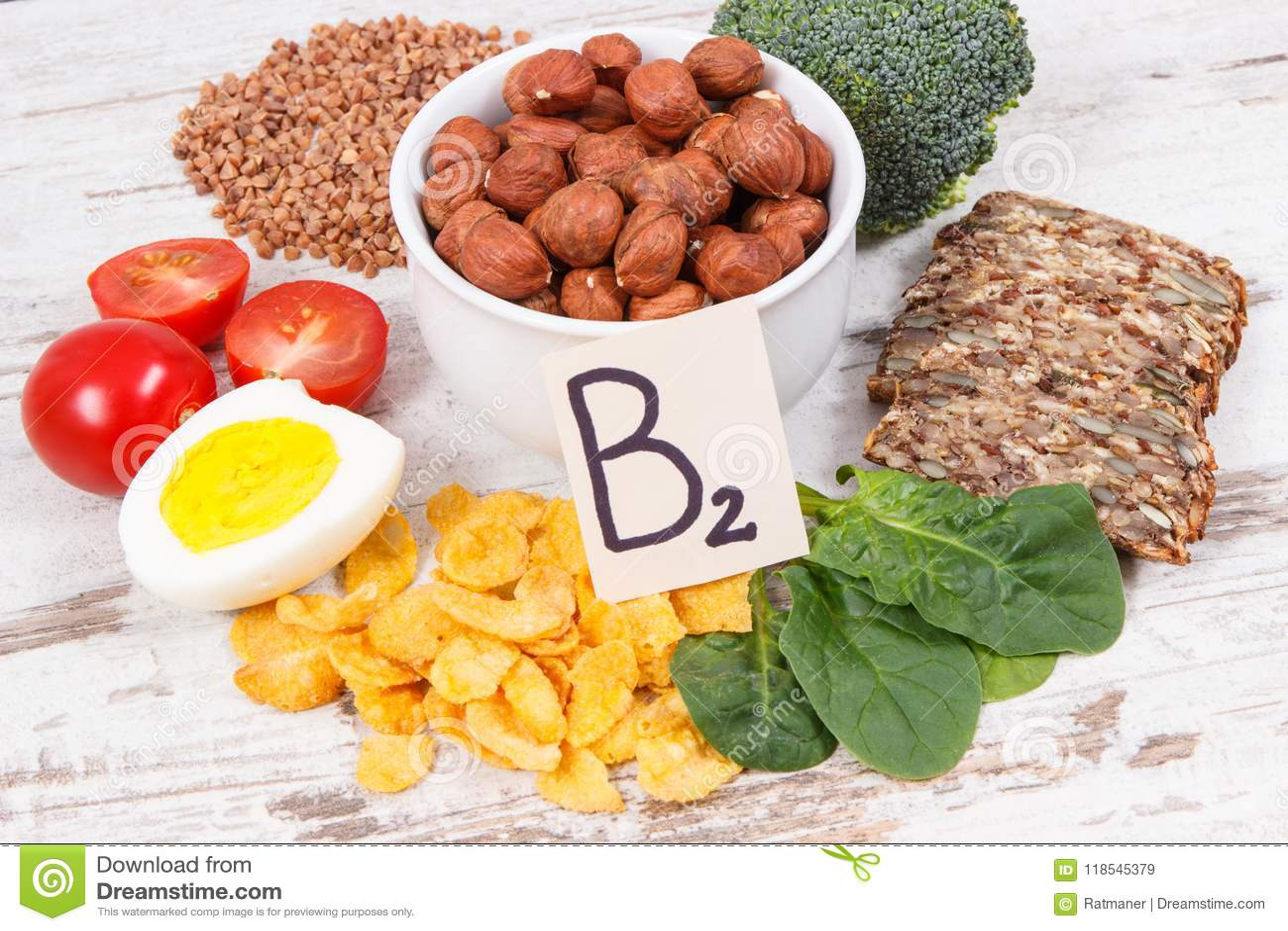 que contiene vitamina b