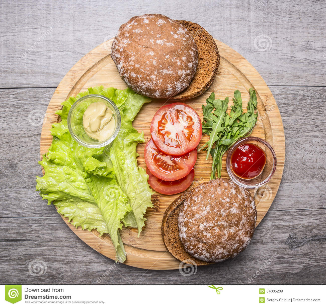 Ingredientes para cocinar la hamburguesa vegetariana con for Ingredientes para cocinar