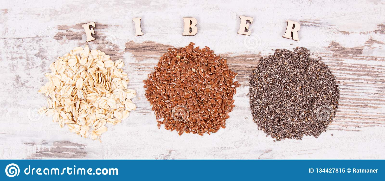 Ingredients as source natural vitamins and dietary fiber, healthy nutrition concept