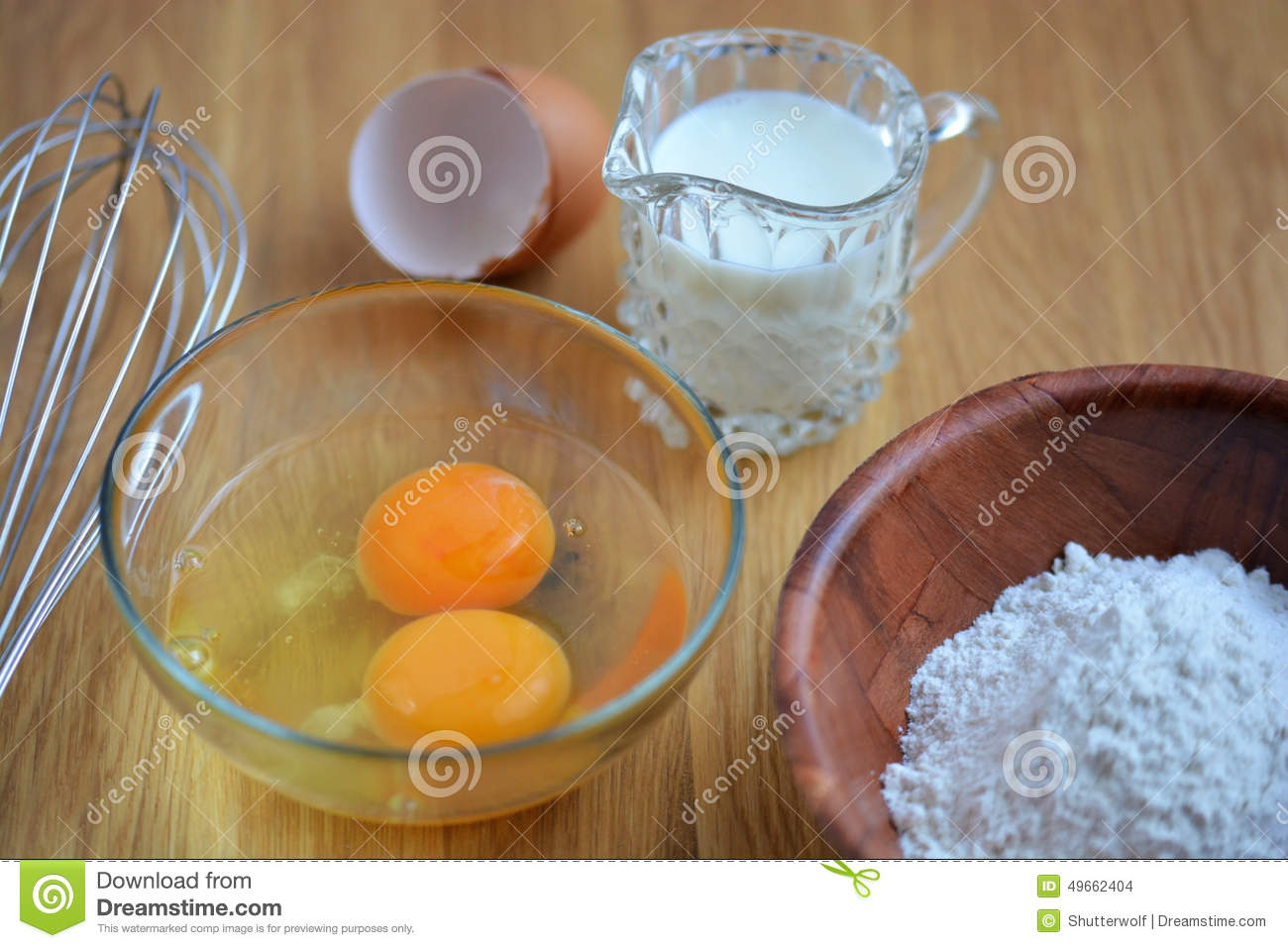 Ingredients for a cake stock photo image of cane making for What are the ingredients for making cake