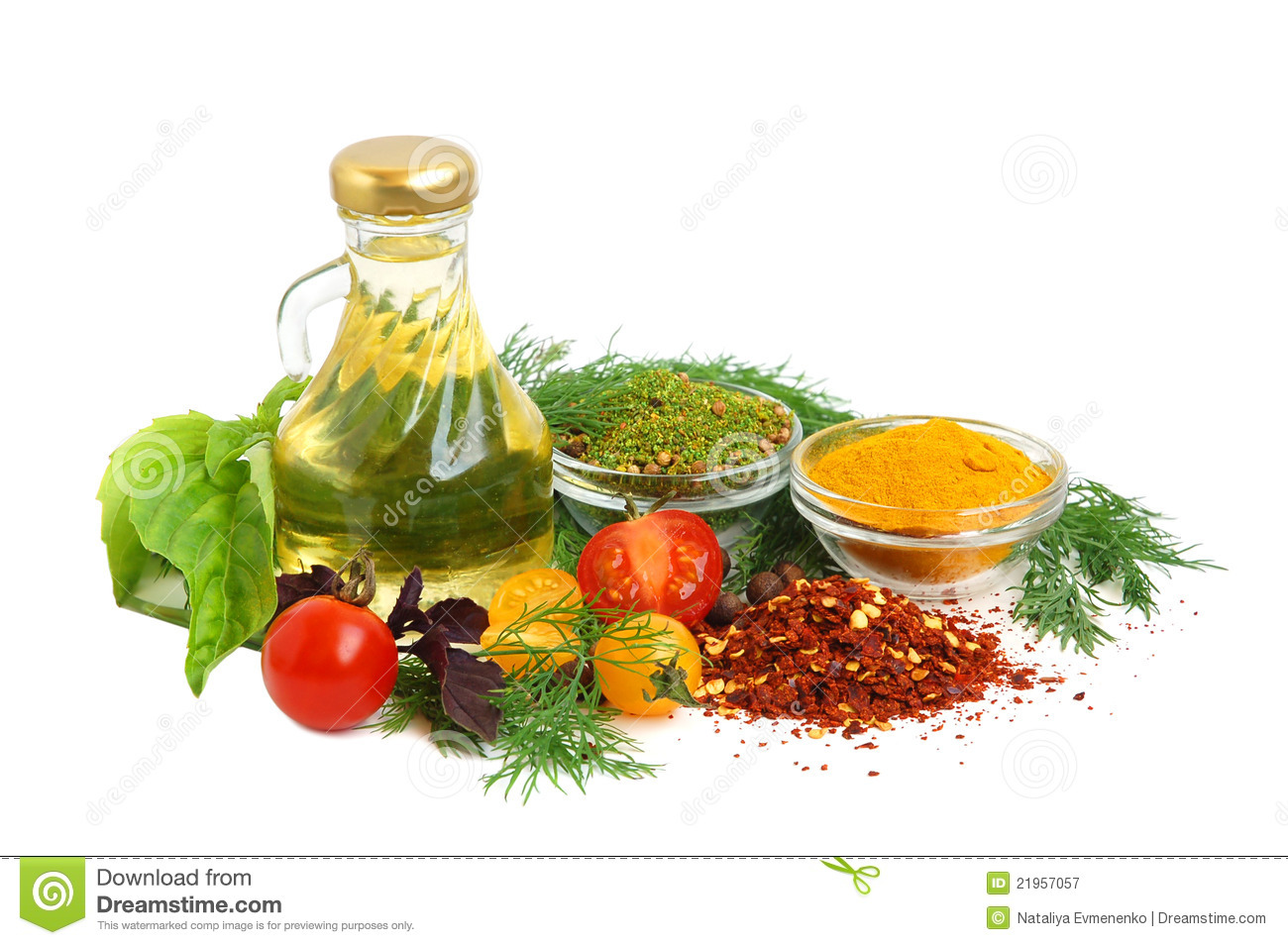 Ingredients For Cooking Royalty Free Stock Photography