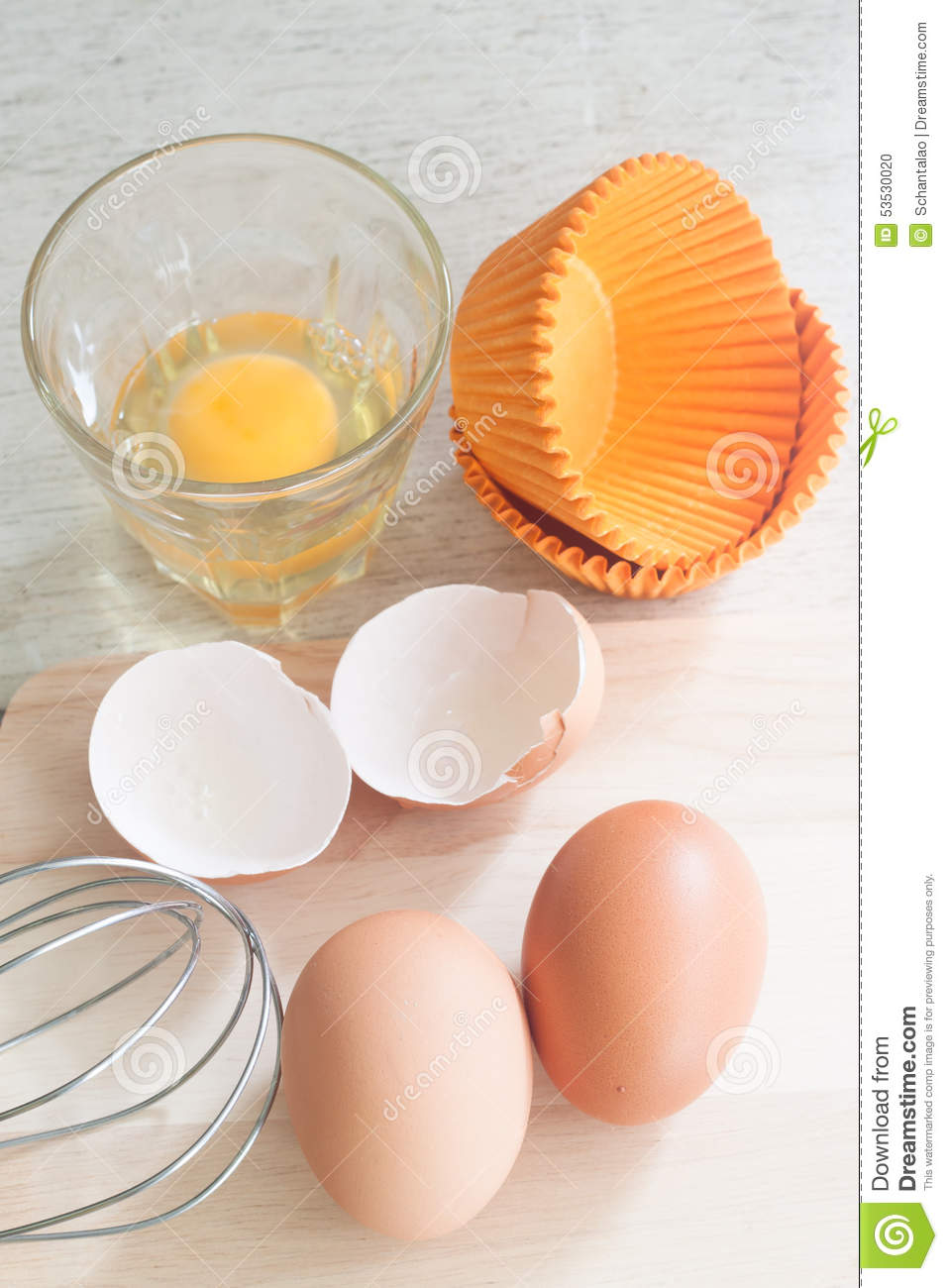 Ingredients and tools to make a cake eggs bakery cups for What are the ingredients to make a cake