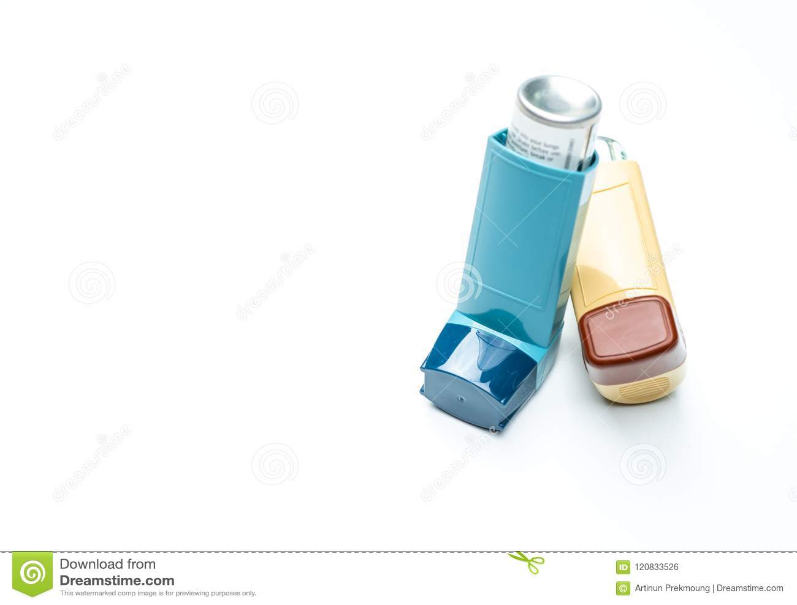 Inhalateur d asthme Contrôleur d asthme, équipement de soulageur Les stéroïdes et le bronchodilateur dopent pour l asthme et la b