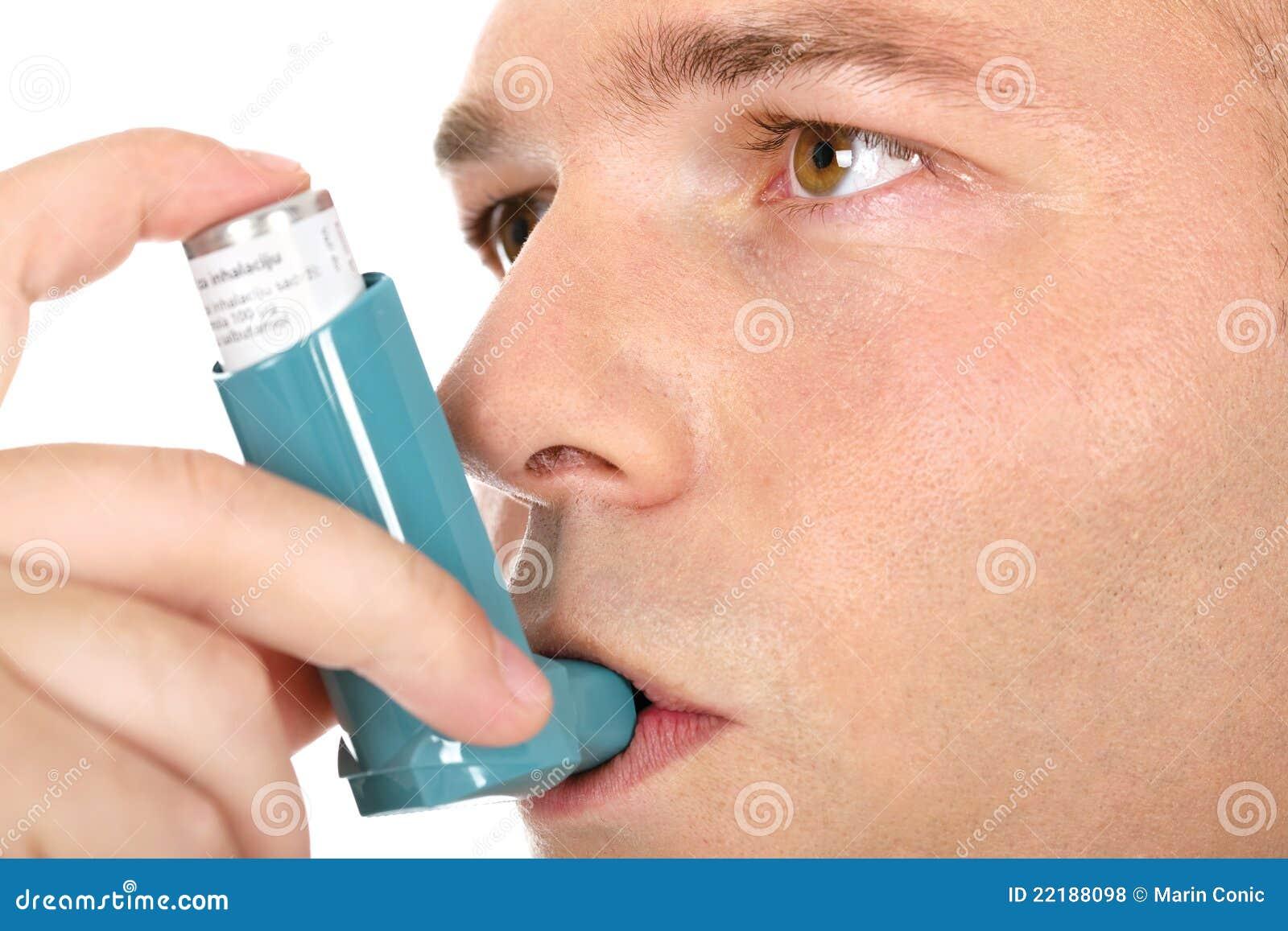 Inhaler εκμετάλλευσης άσθματ&
