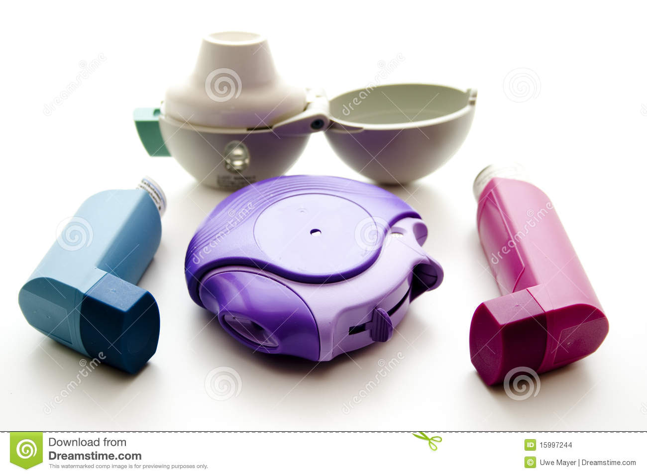 Inhalers for asthma and suffering from a lung disease ones.