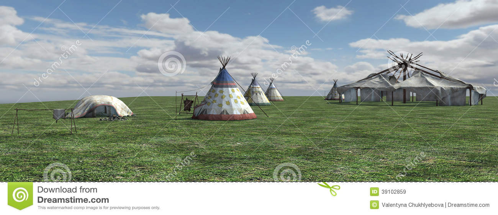 Inheems Amerikaans Dorp