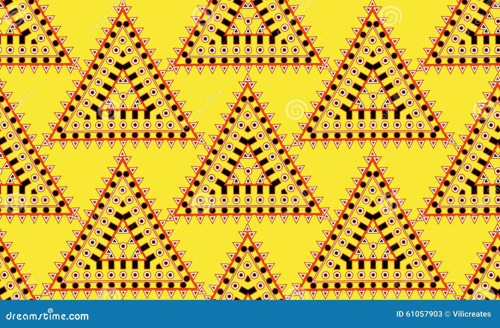 Inheems amerikaans stijl naadloos patroon stock illustratie afbeelding 61057903 - Mode stijl amerikaans ...