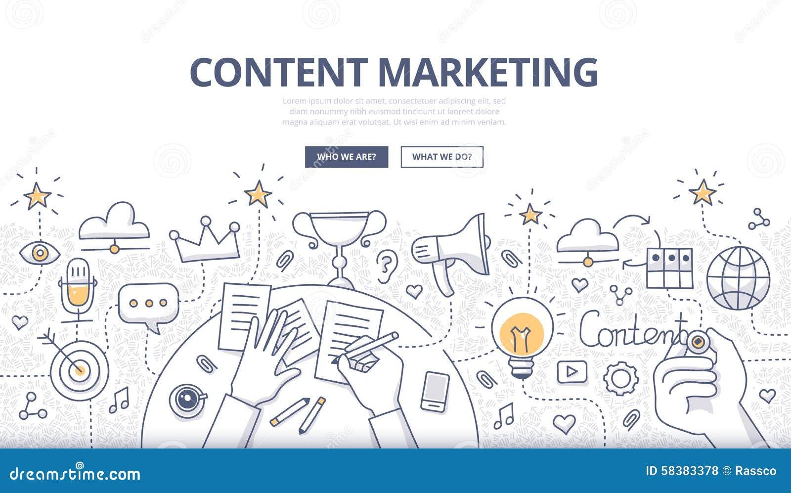 Inhoud Marketing Krabbelconcept