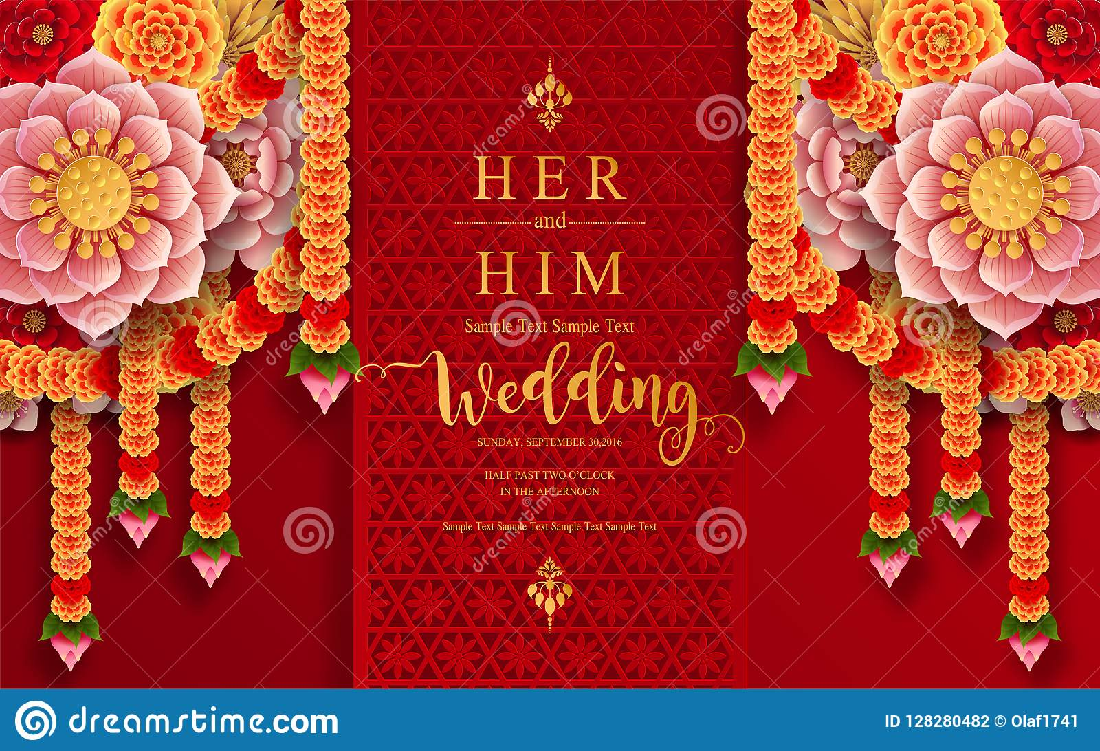 Indian Wedding Invitation Carddian Wedding Invitation Card