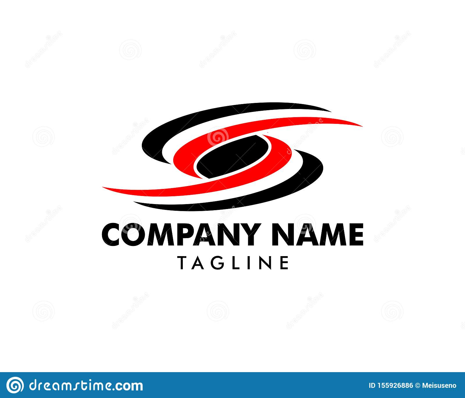 Initial Letter S Logo Template Design