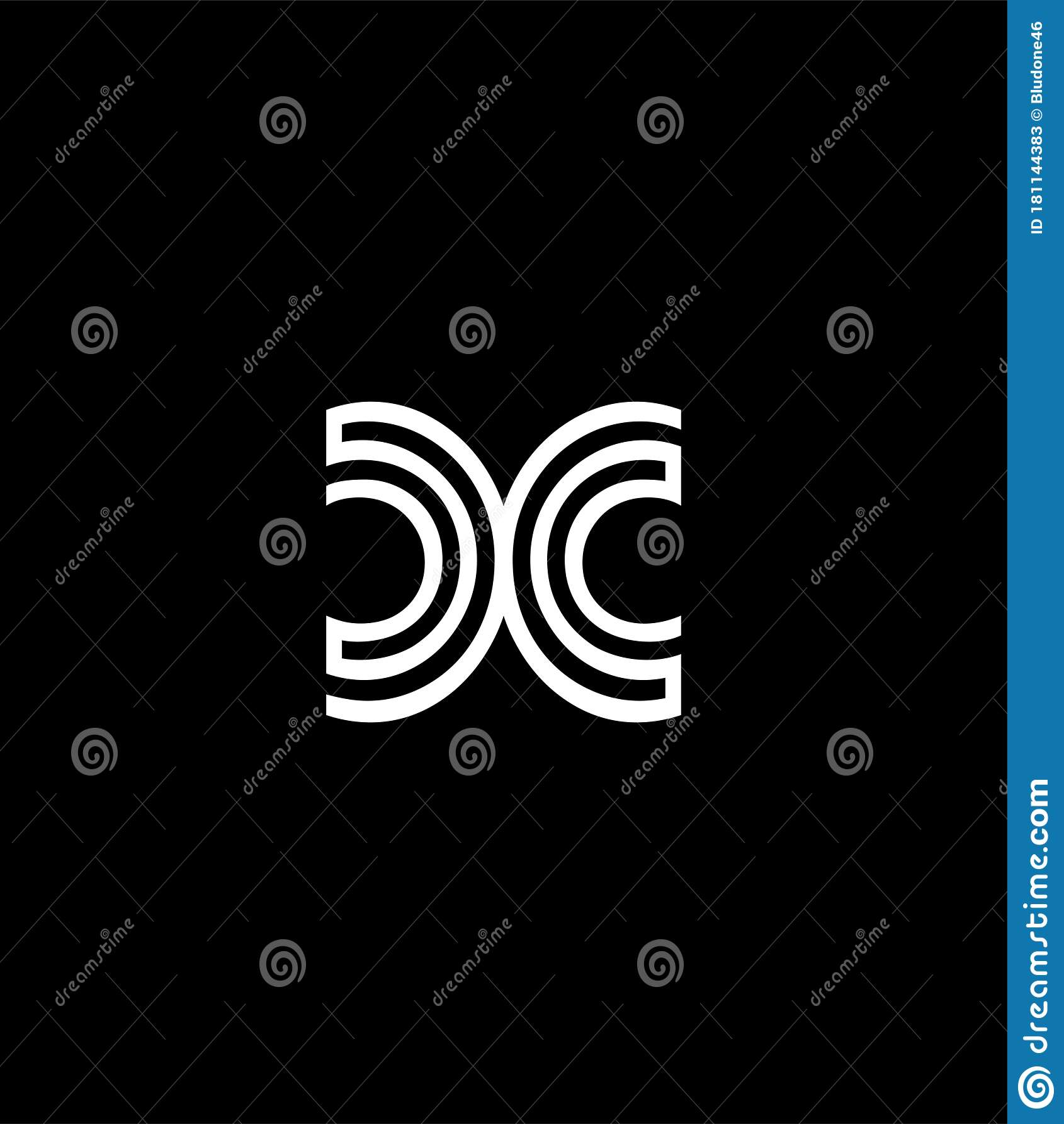 Initial Monogram Letter Cc Logo Design Vector Template Cc Letter Logo Design Stock Vector Illustration Of Designisolated Letters 181144383