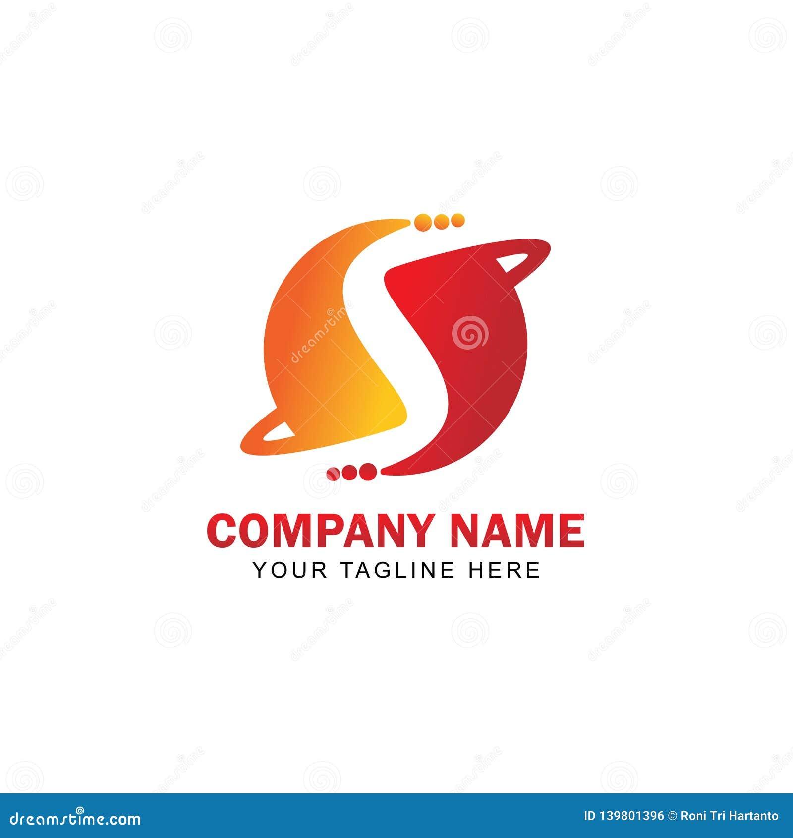 Initial S Logo Vector Design