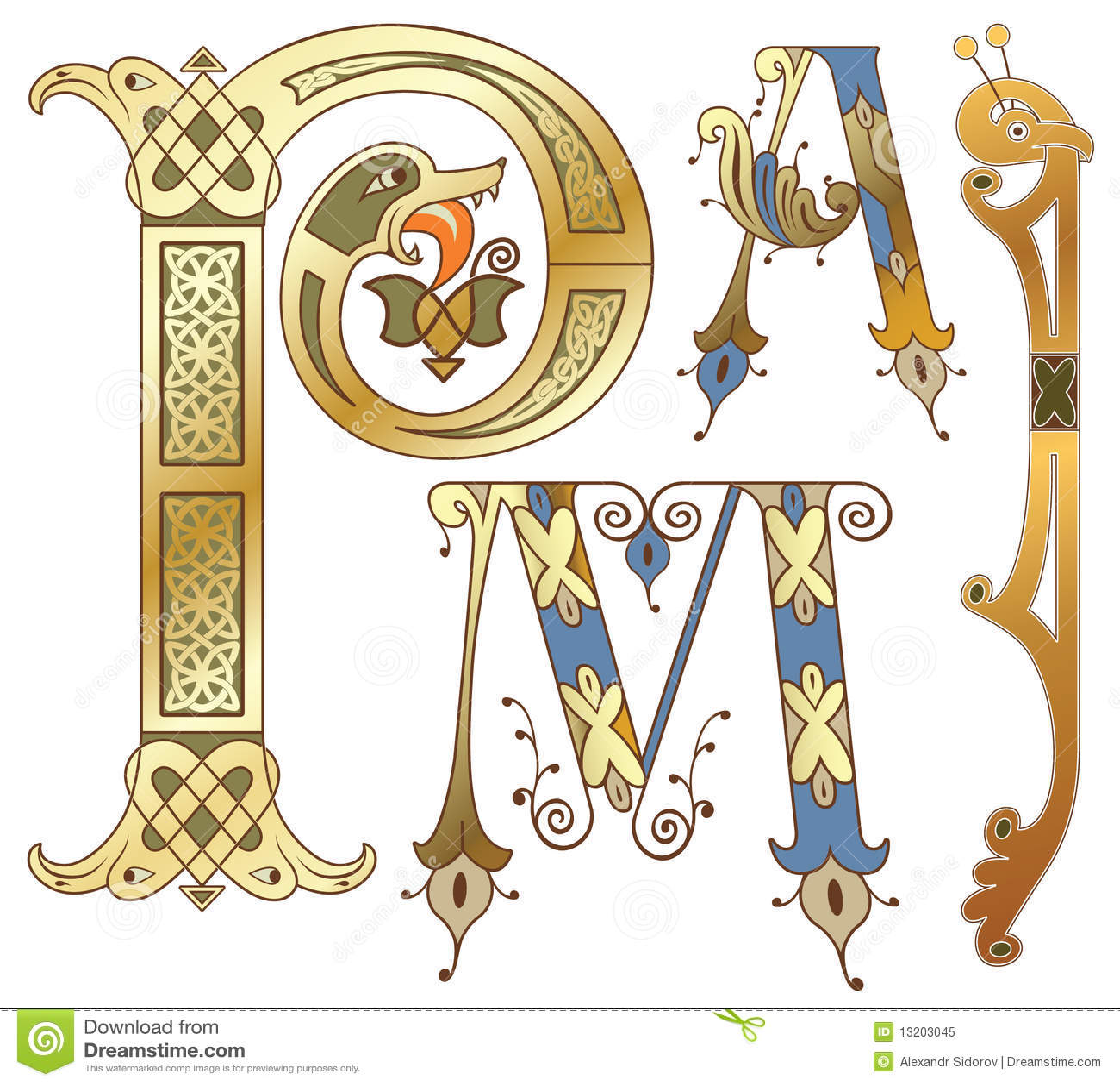 initials royalty free stock photo