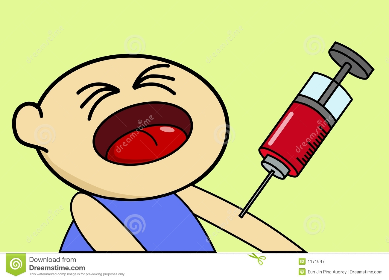 Injection Boy Royalty Free Stock Photography - Image: 1171647