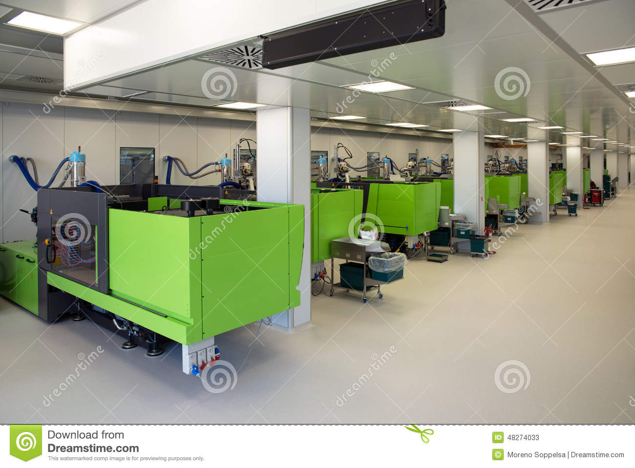 Large cleanroom a cleanroom or clean room is an environment typically