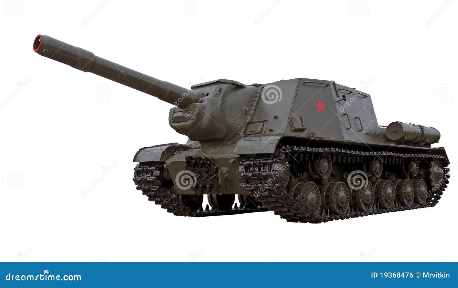 Injetor automotor soviético legendário ISU-152