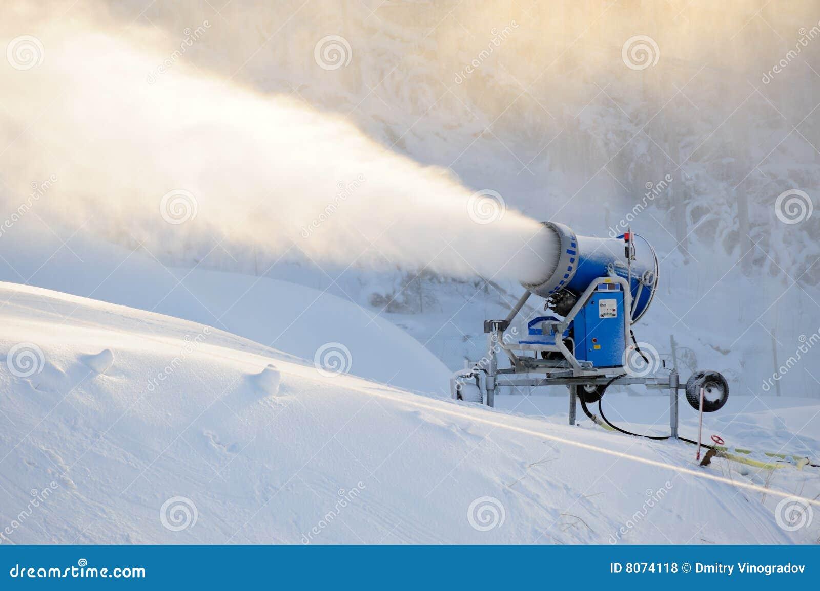 Injetor da neve