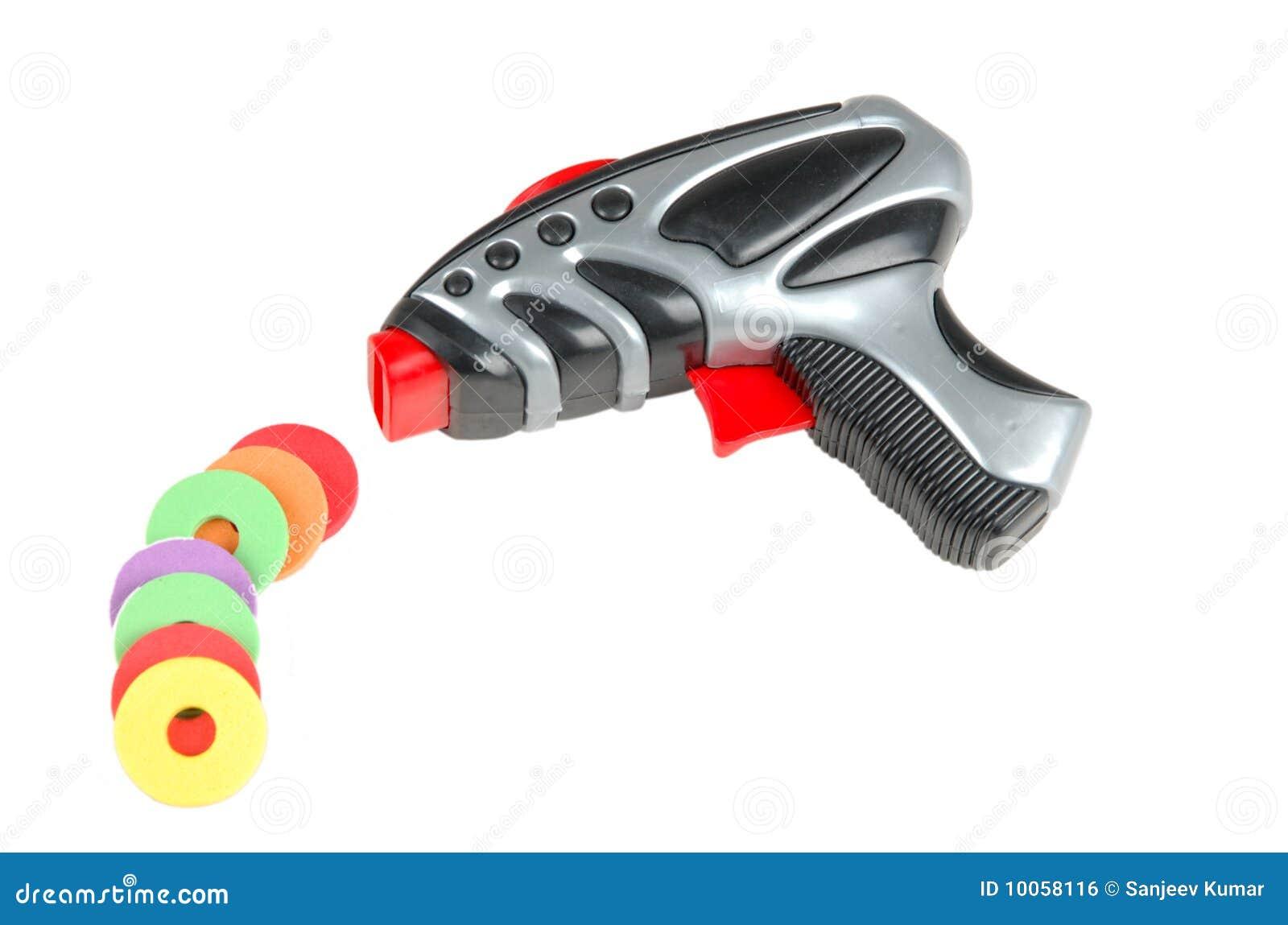 Injetor do brinquedo com balas