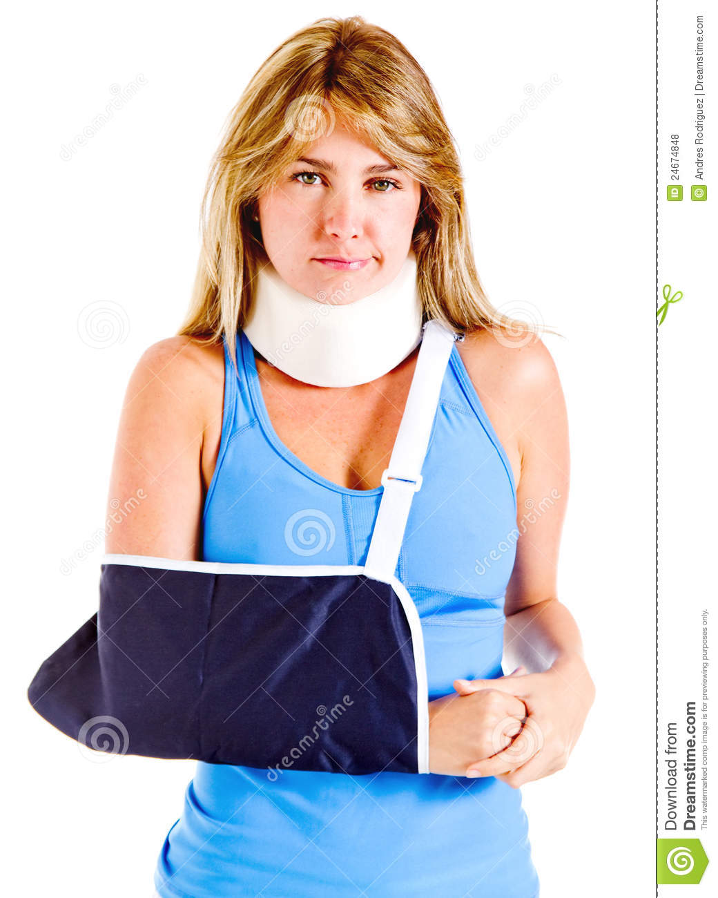 Injured woman stock photo. Image of adult, girl, sore ...