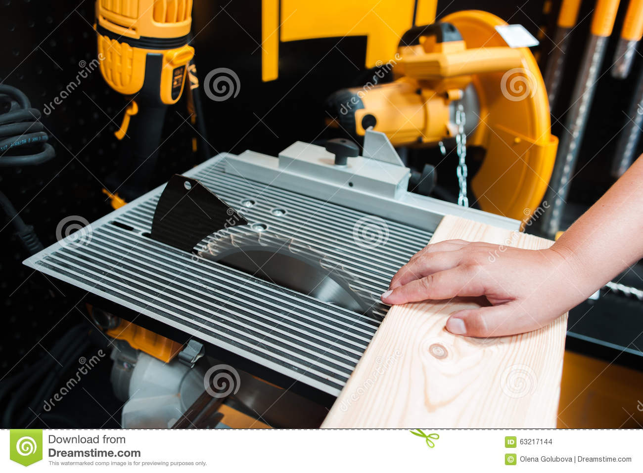 Injuries (dangerous Work) In Woodworking Manufacturing Stock Photo - Image of craftsman ...