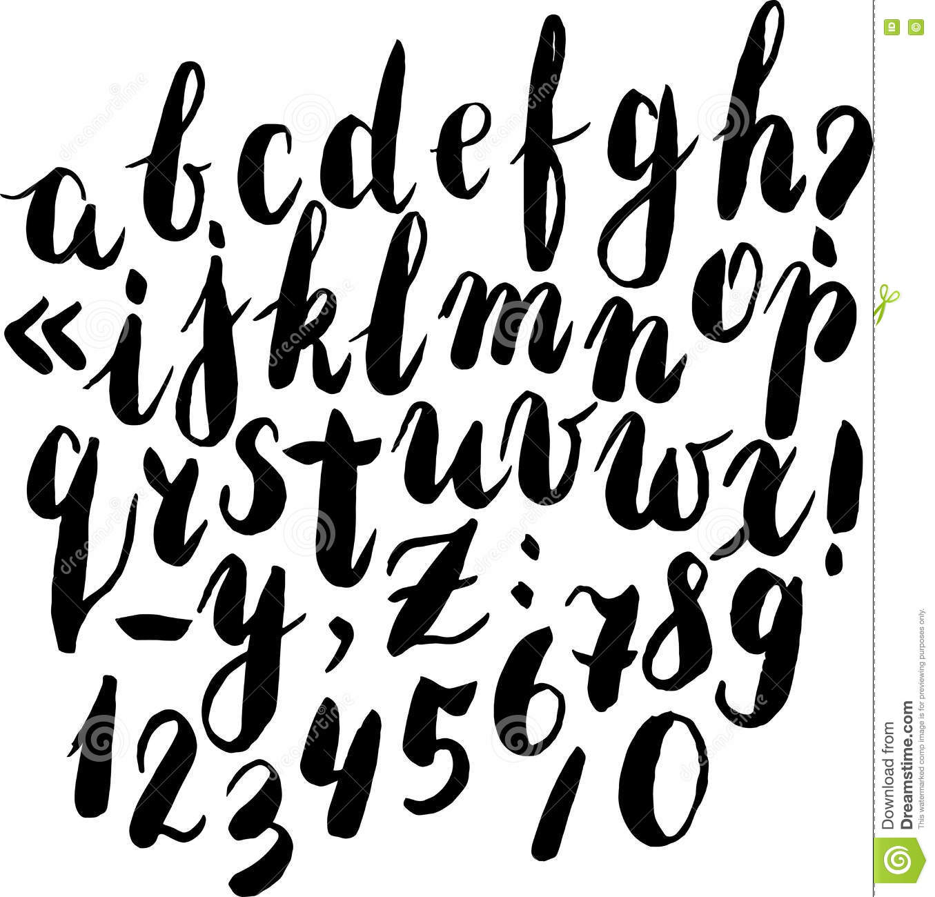 how to break a caligraphy brush