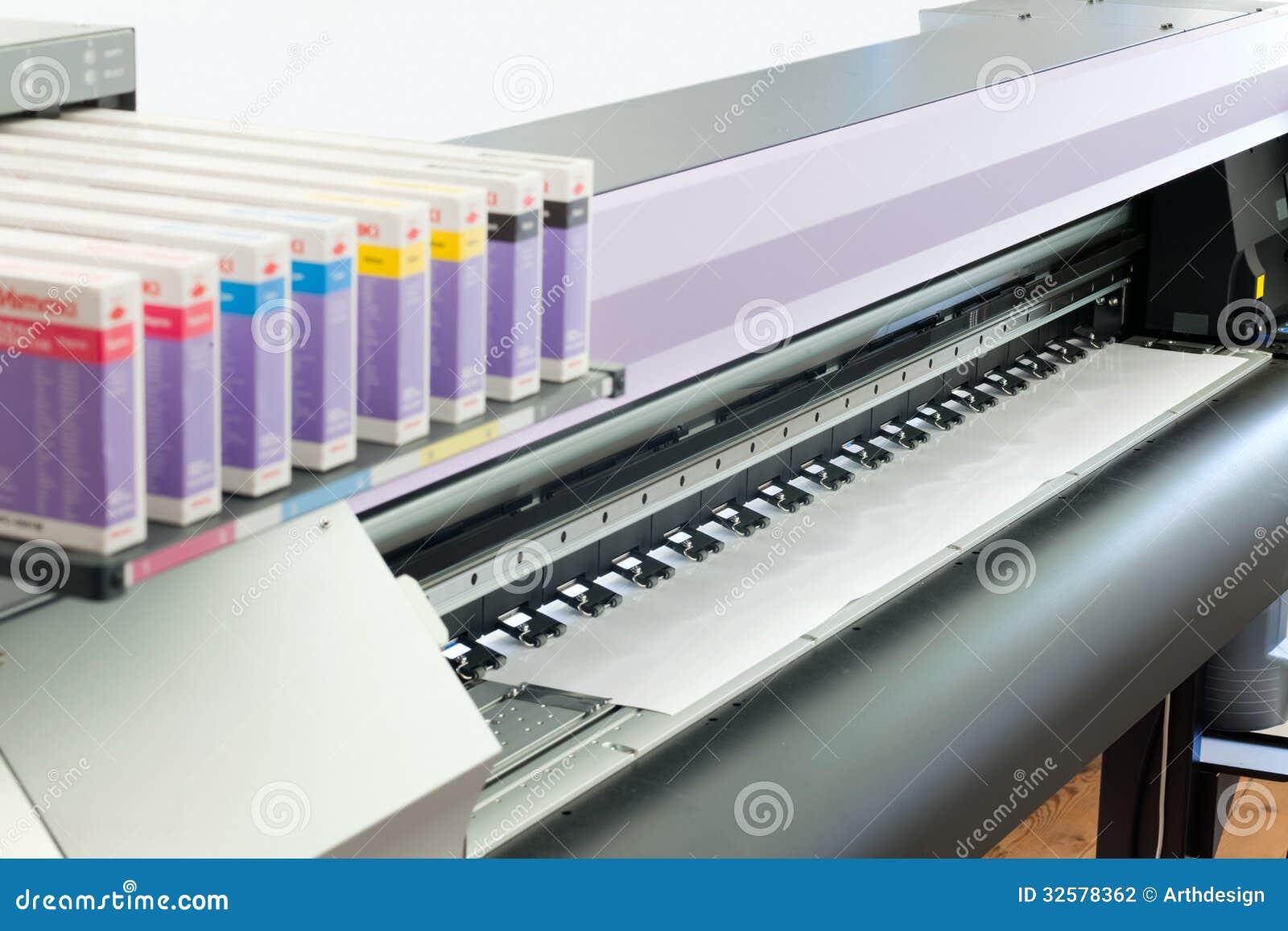 Cymk Puzzle Ink Jet Printer Stock Photography Image 32578362