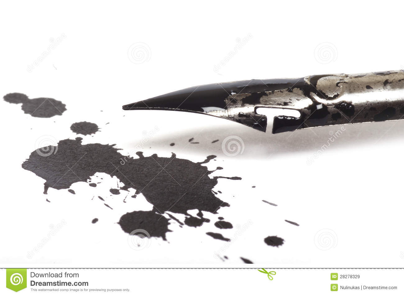 Production Of Pen Ink From Pulverized Charcoal