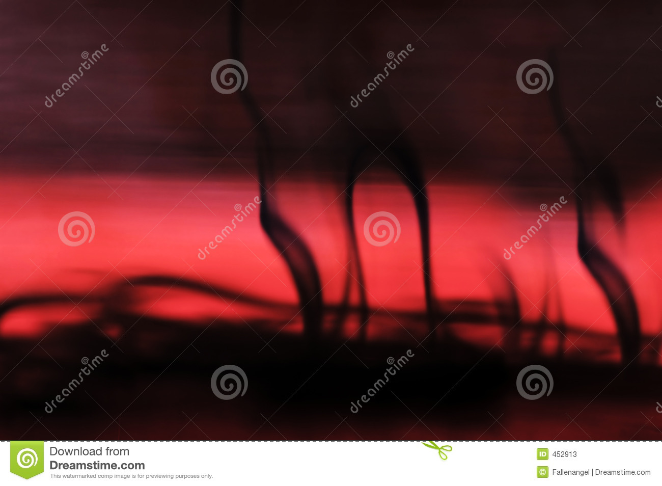 Download Ink in red water blur stock image. Image of silk, swirl - 452913