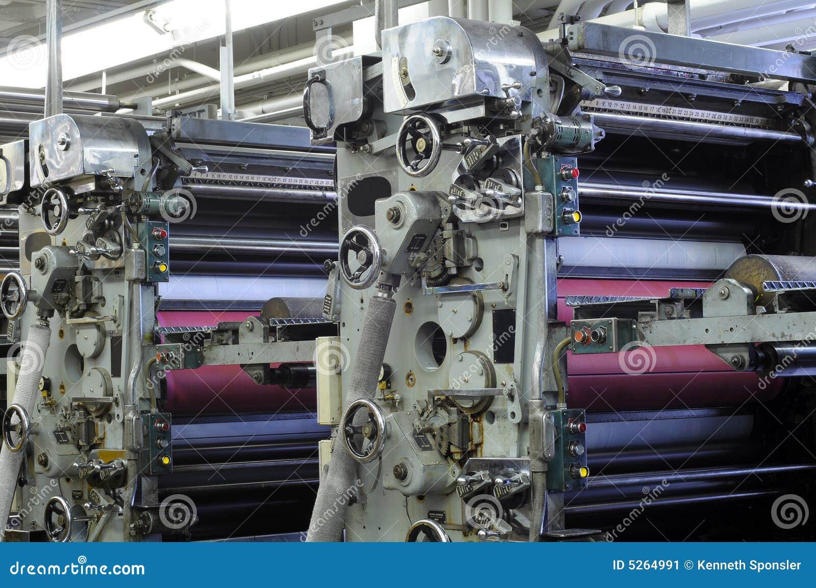 Ink roller units