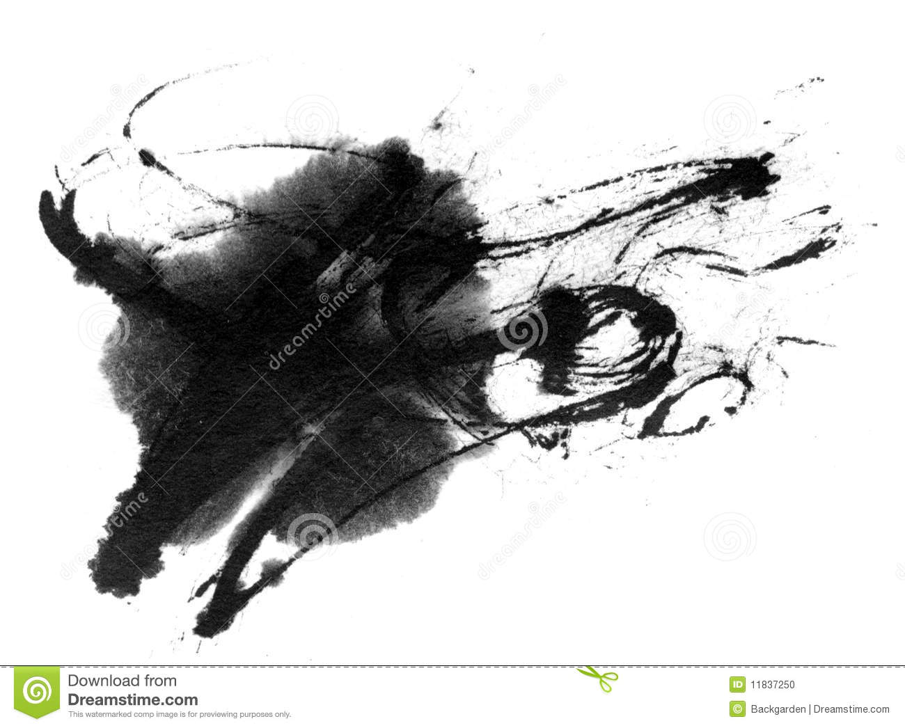 ink splash stock photo image 11837250