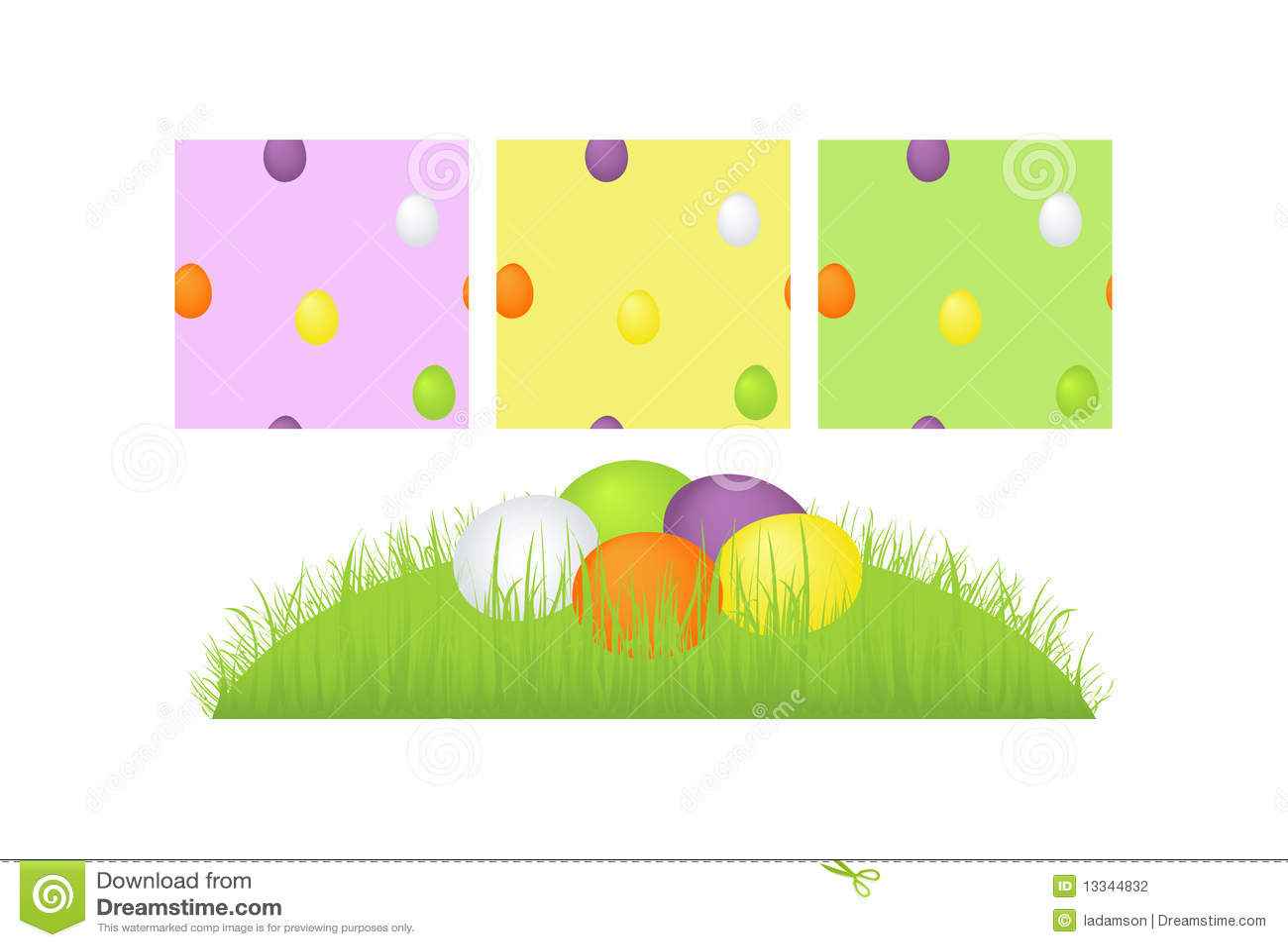 Inkasowy Easter jajek wektor