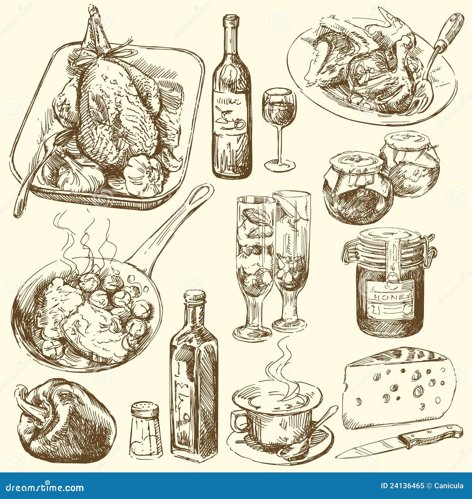 Inkasowy jedzenie