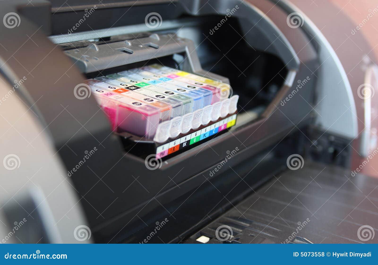 Inkjet printer color cartridge