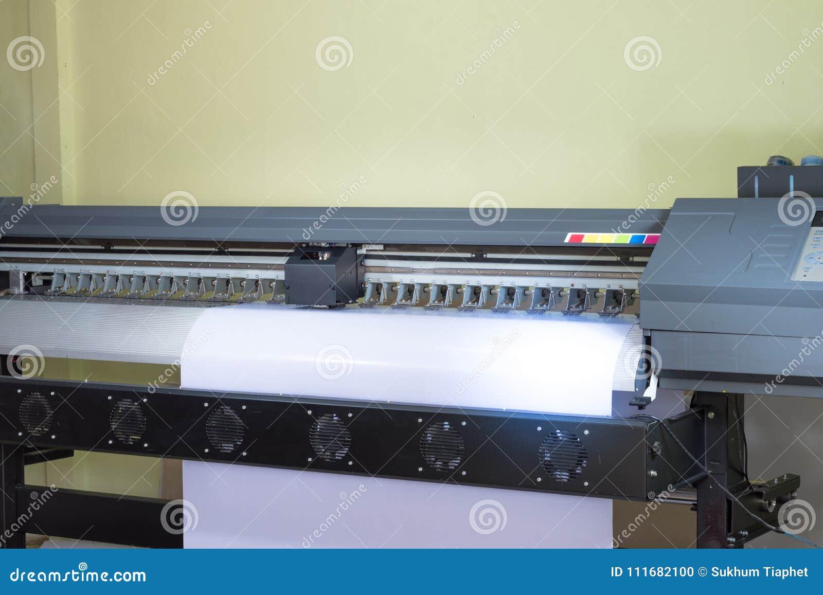 Inkjet printer machine stock photo  Image of graphic - 111682100