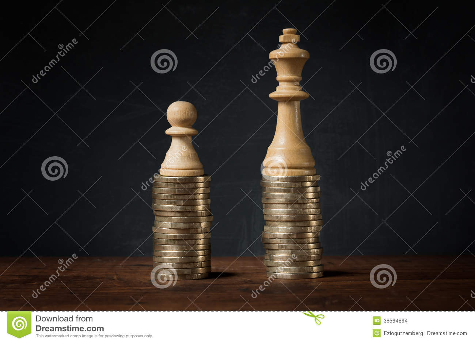 Inkomensverschillen tussen rijk en slecht