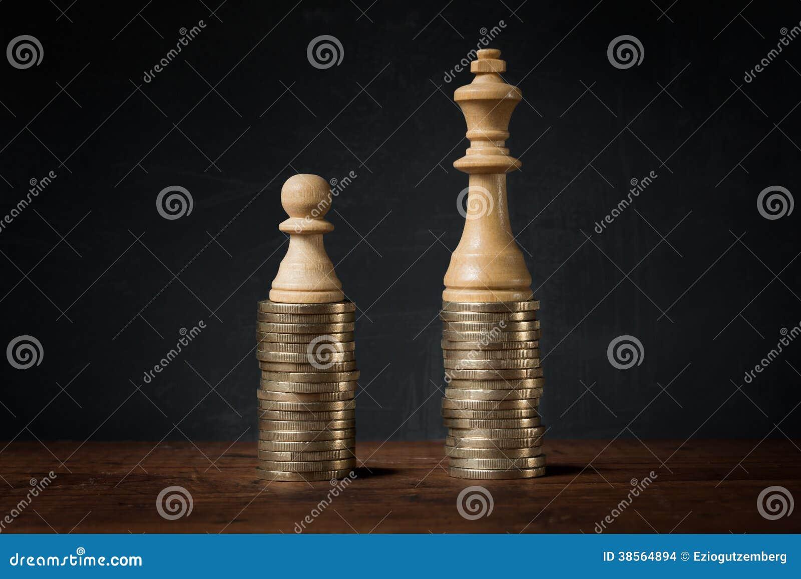 Inkomstskillnader mellan rikt och fattigt
