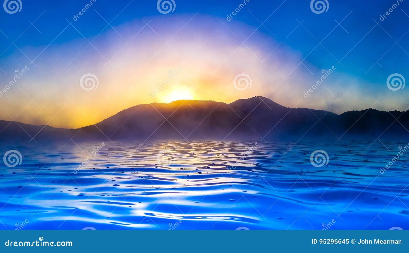Inky Seascape