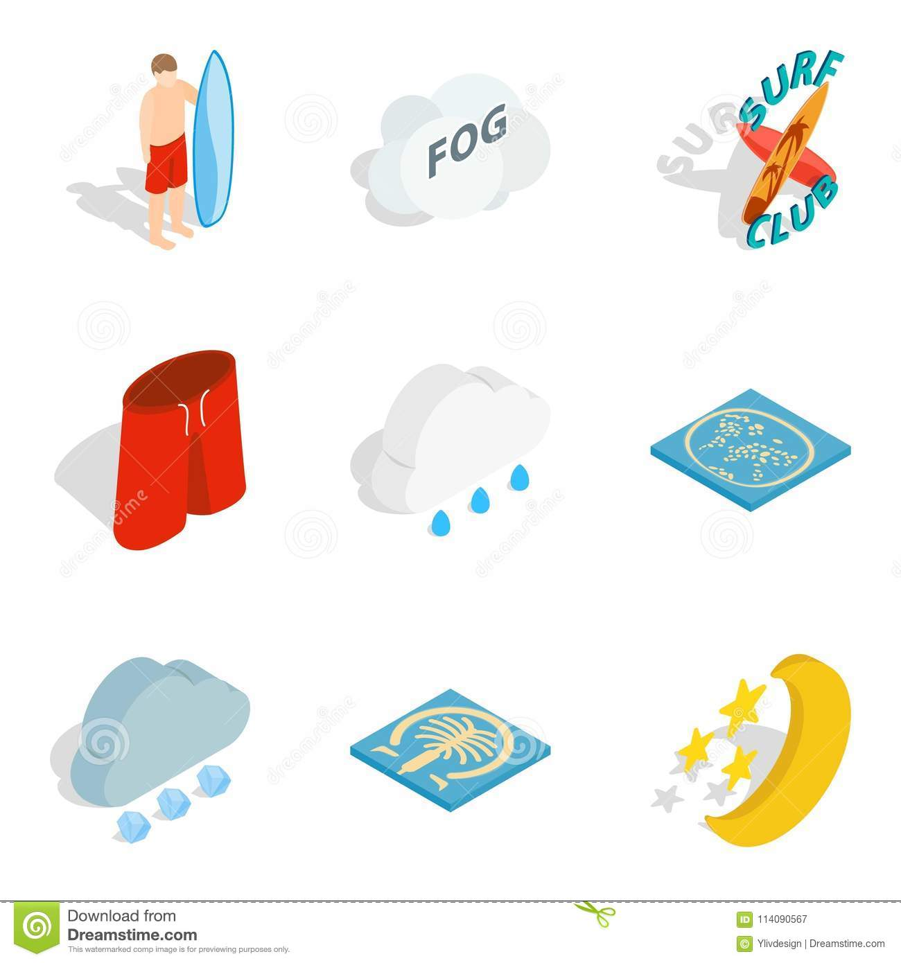 inland water icons set isometric style inland water icons set isometric set inland water vector icons web isolated white 114090567 inland water icons set, isometric style stock vector illustration