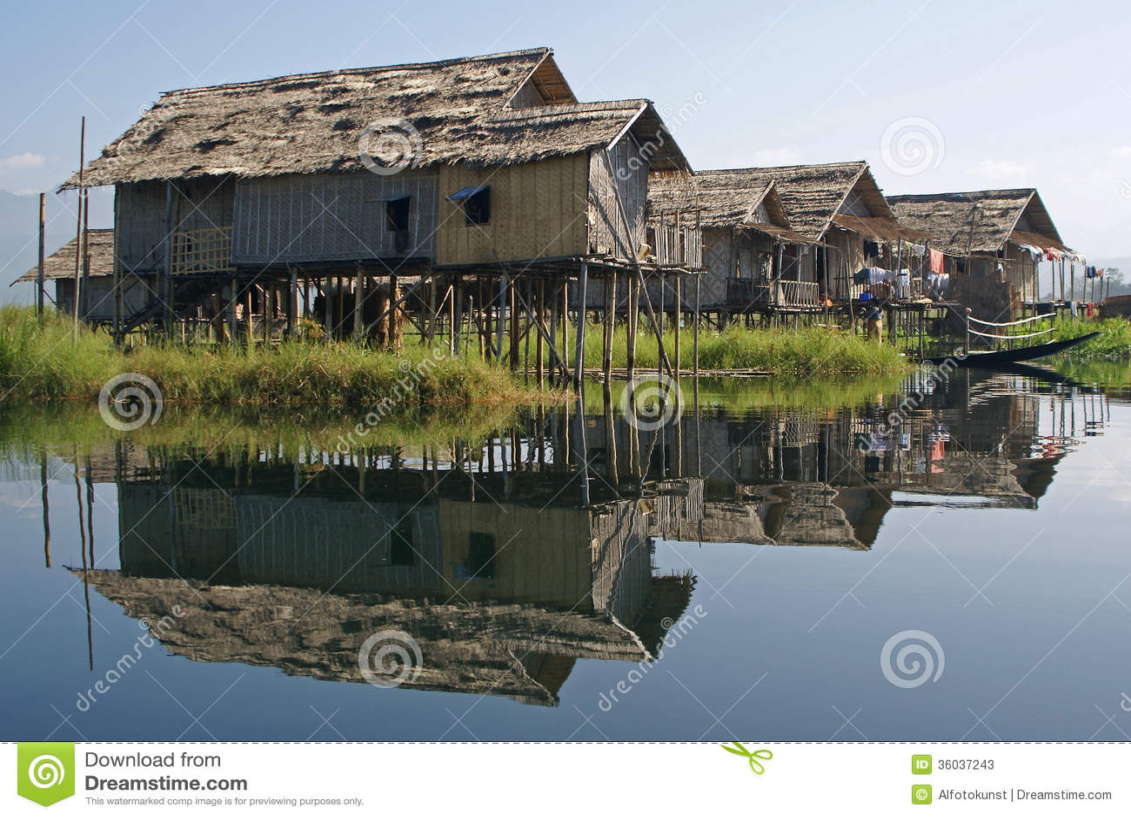 Inle湖,缅甸,亚洲
