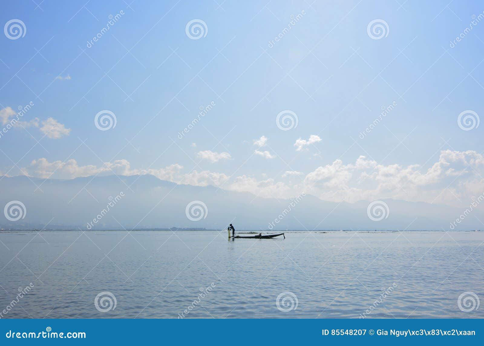 Inle Lake Boat Tour Stock Photo - Image: 92697938